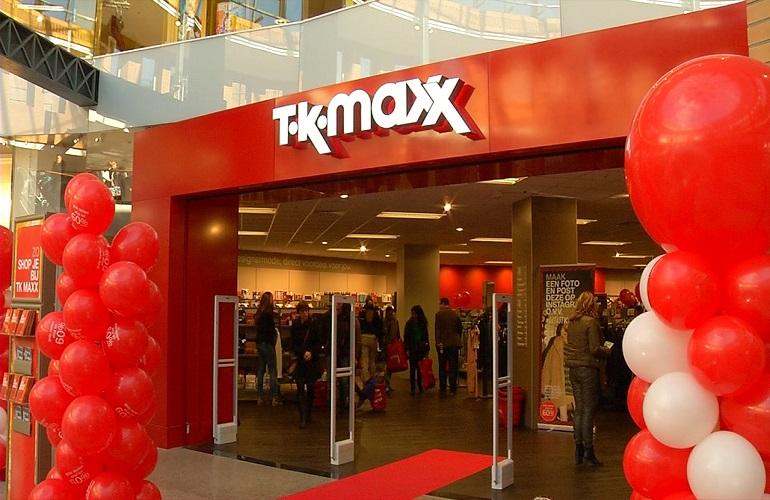 TK Maxx vestigt zich in Nederland