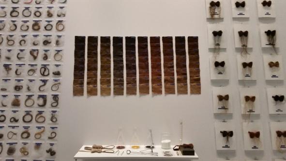 haar tentoonstelling