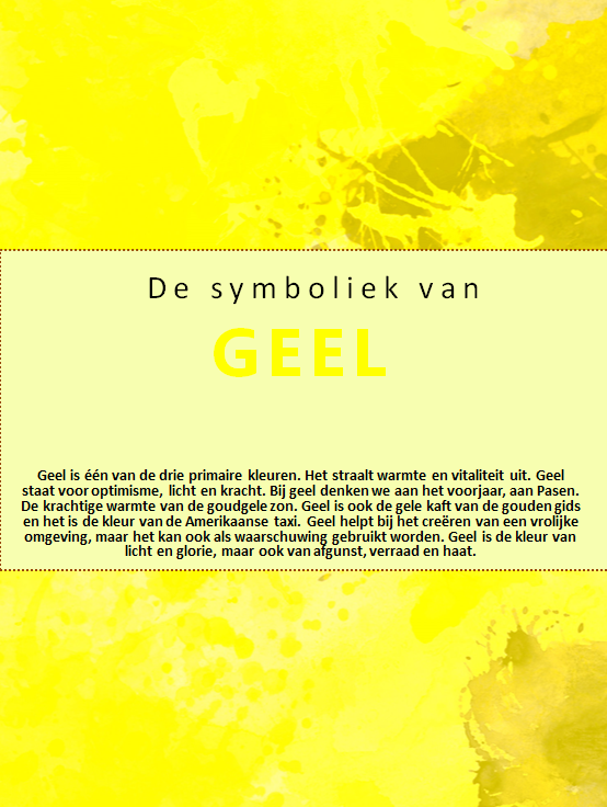 ebook Geel