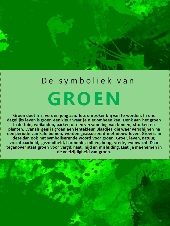 ebook groen