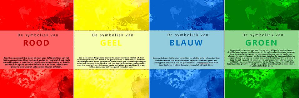 Kleursymboliek vakblad kleur stijl - Kleur associatie ...