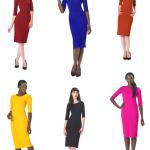 Kleurrijke jurken