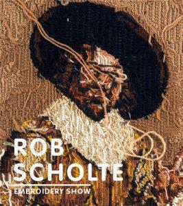 Boek Cover Rob Scholte Embroidery Show | Waanders