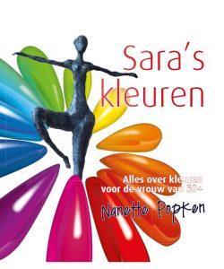 Boek Cover Sara's Kleuren | Nanette Popken | Kantoorboek