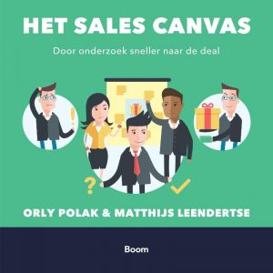 Book Cover: Het sales canvas | Orly Polak en Matthijs Leendertse | BOOM