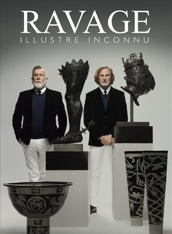 Book Cover: Ravage Ilustre Inconnu | L. Edelkoort & J. Smeets | Lecturis