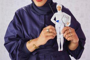 Hoofddoek voor Barbie