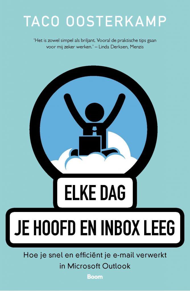 Book Cover: Elke dag je hoofd en inbox leeg | Taco Oosterkamp | Boom