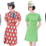 Fly me to the moon: stewardessen outfits in Kunsthal Rotterdam