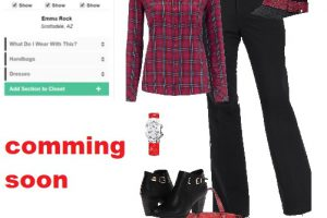 Digitale kledingkast