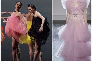 Huwelijk tussen mode en dans