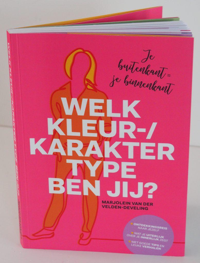 Boek Cover Welk kleur-/karaktertype ben jij?- Je buitenkant=je binnenkant
