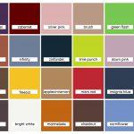 Kleurkaart F/W 2020