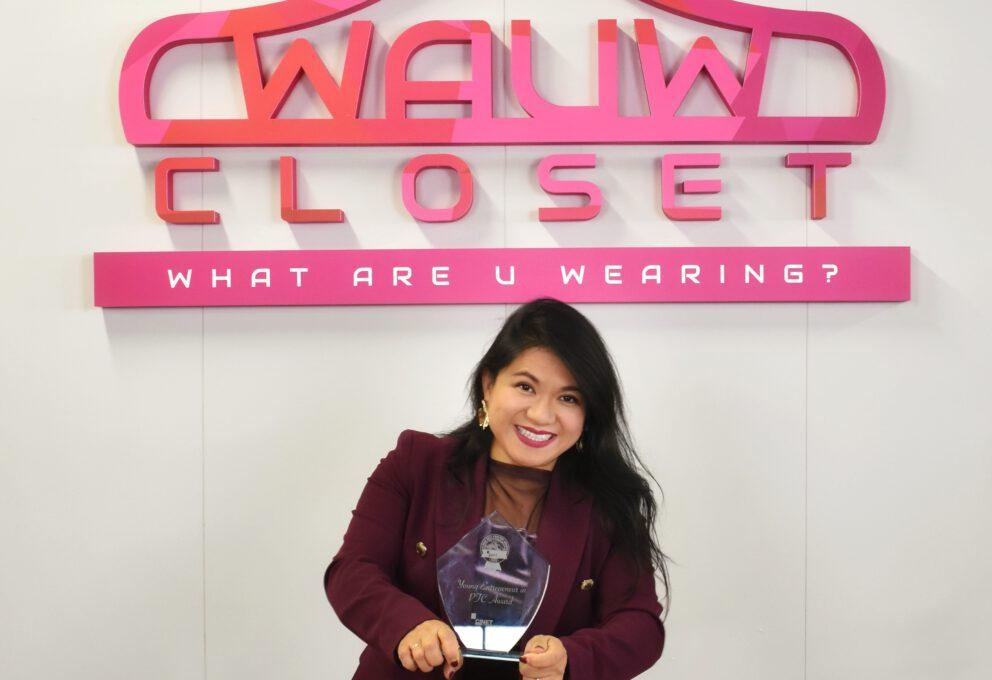 WAUW Closet wint YEP Award