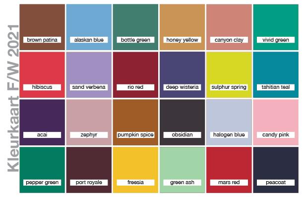 Kleurkaart W/F 2021-2022
